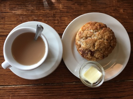 For a taste of Victoria, order one of Spinnaker's daily scones and a pot of English Breakfast.
